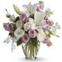 bouquet-rose-gigli-bianchi-rose-rosa