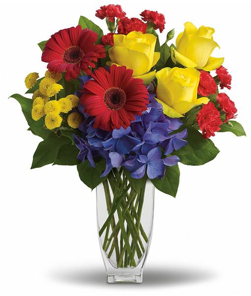 bouquet-gerbere-e-rose-gialle