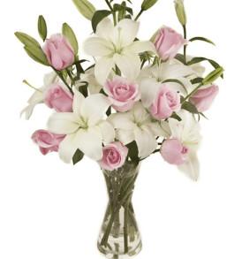 bouquet-gigli-e-rose