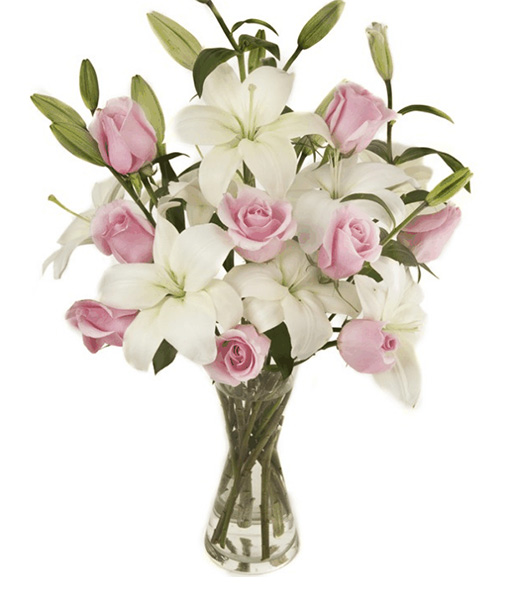 bouquet-gigli-e-rose