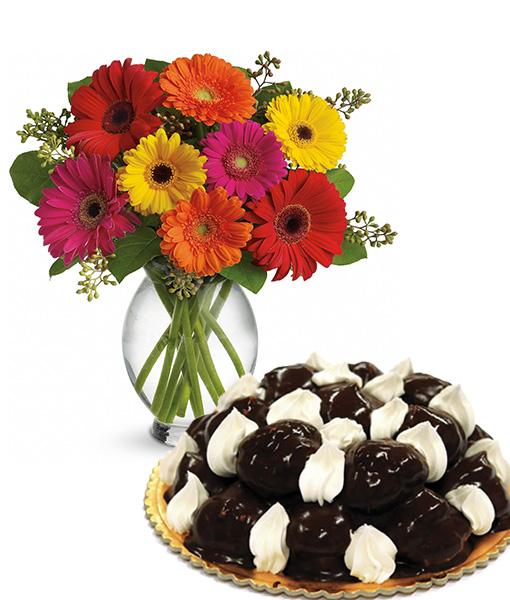 bouquet-di-gerbere-con-torta-protterol
