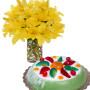 bouquet-di-gigli-con-cassata-siciliana